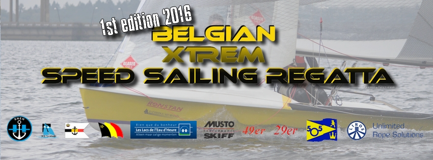 Belgian Xtrem speed sailing regatta