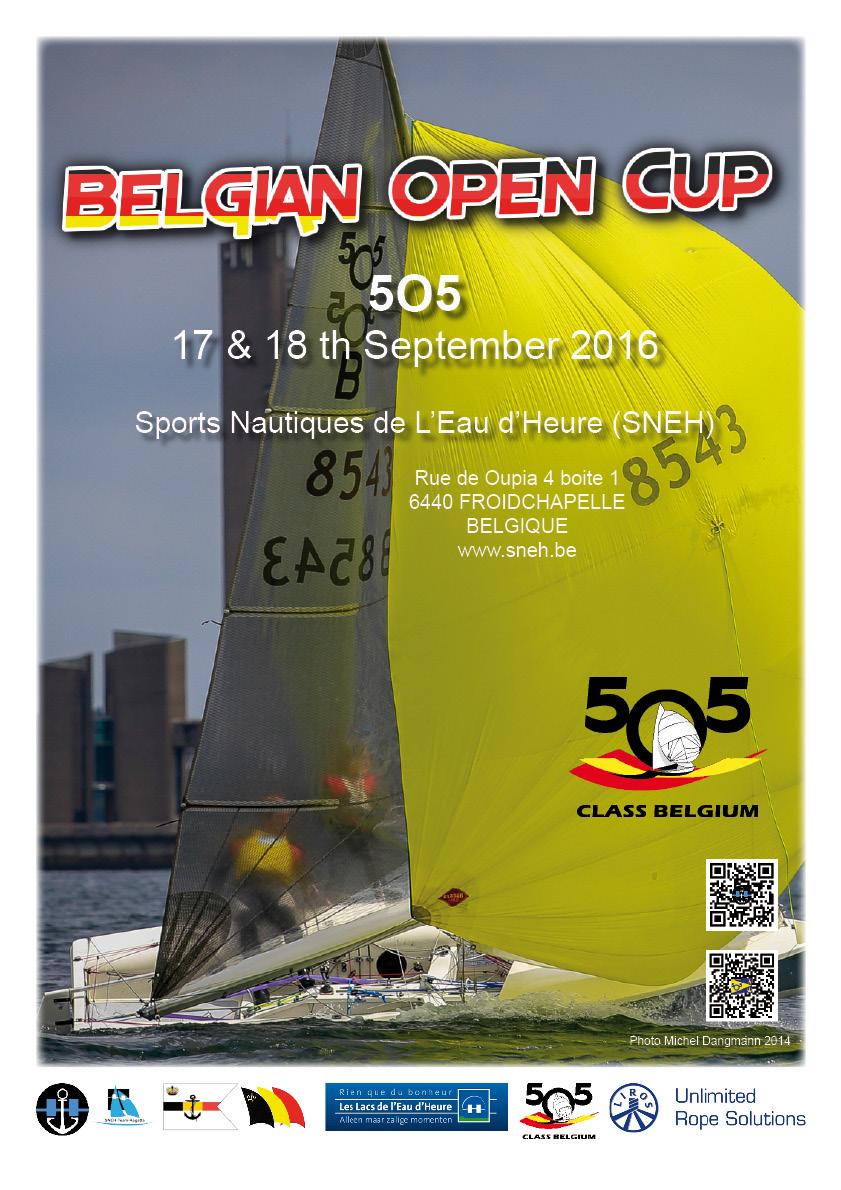 Belgian Open Cup 2016 AFFICHE FINAL